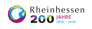 Logo - Weinerlebnisregion Rheinhessen im Jubiläumsjahr 2016